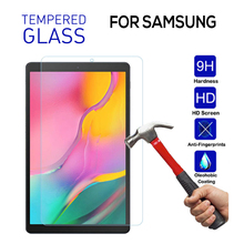 For Samsung Galaxy Tab A 10.1 2019 T510 T515 Tempered Glass Tablet Screen Protector for Samsung Tab A7 10.4 2020 Film Clean Tool