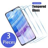 3 uds de vidrio templado para Xiaomi Redmi Nota 10 9 8 7 Pro 9S 8T de película Protector de pantalla para Redmi 9 9T 9C NFC 9A 9AT 8 8A 7A 6