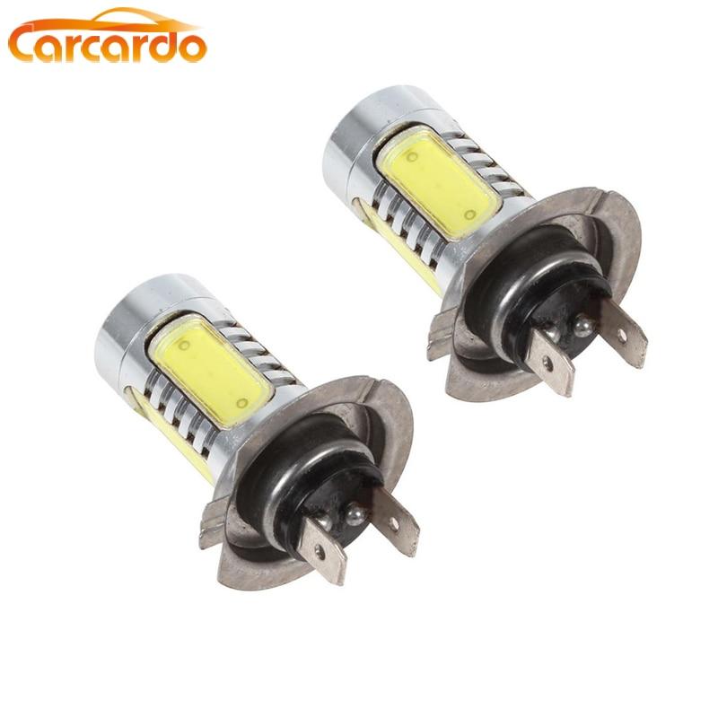 Carcardo 1 ζεύγος 7,5W H7 λάμπα φώτα ομίχλης LED H7 προβολέας αυτοκινήτου 7,5W H7 υψηλός προβολέας ομίχλης H7