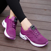 Sneakers Women Shoes 2021 Breathable Platform Casual Running Sports Shoes Woman Comfotable Lace Up Walking Ladies Sneakers
