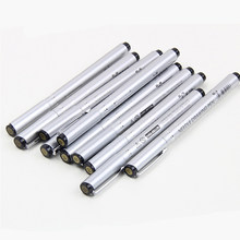 Superior 10 pçs agulha fina forro desenho à prova dfinágua pigmento fineline esboço marcador pintura escova caneta arte suprimentos