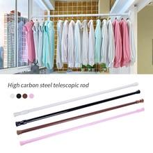 Rod Curtain-Rods Tension Telescopic-Pole Extendable Shower Bathroom Kitchen Voile Mental