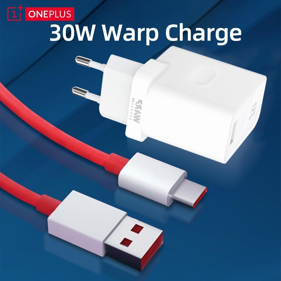Оригинальный 30 Вт Зарядное устройство для OnePlus Warp заряжайте 30 тире Зарядное устройство для Oneplus 8 Pro 7t 7 8 6t One Plus Nord N10 5G быстрый адаптер для теле...