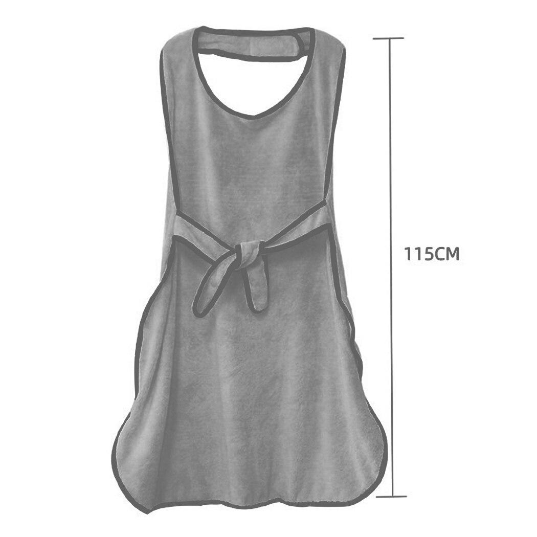 chuveiro cinzento animal avental design roupão toalha