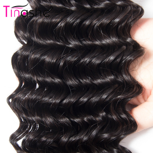 Image 4 - Tinashe 髪でバンドルフロント透明なレースの閉鎖前頭バンドルブラジルカーリー人間の髪のバンドル