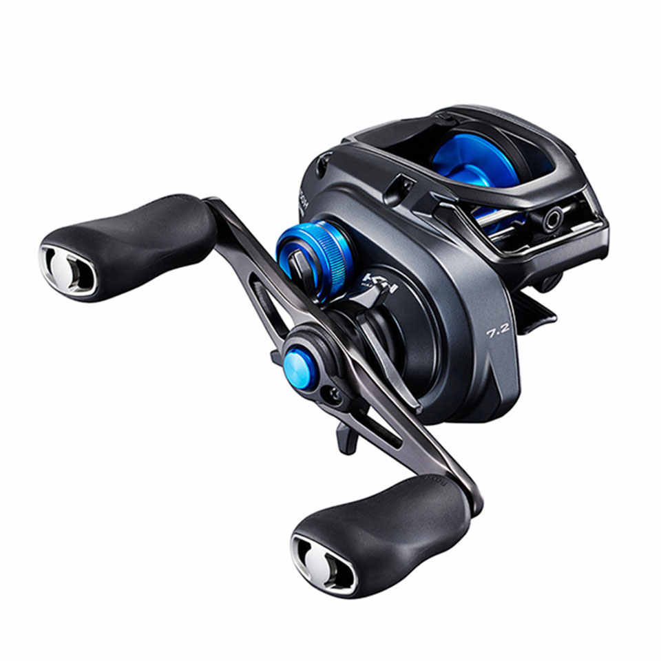NEW SHIMANO Reel SLX XT Baitcast Fishing Reel New SVS Infinity Braking System Aluminium Hagane body
