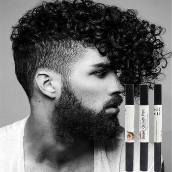 Men Beard Growth Pen Beard Enhancer Nourish Facial Whiskers Nutrition Moustache Growth  Enhance Anti Hair Loss mature man недорого