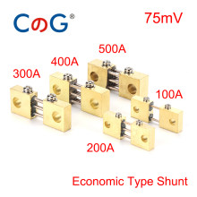 Derivación de FL-19B para medidor de Panel analógico de corriente, 100A, 200A, 300A, 400A, 500A, 600A, 1500A, 75mV, resistencia de latón