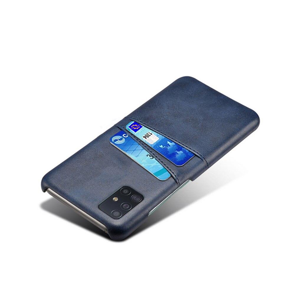 Card Slot Case For Samsung Galaxy A01 A11 A21 A31 A41 A51 A71 A70E A81 A91 Leather Cover Cases Glaxay Fundas Para Bumper