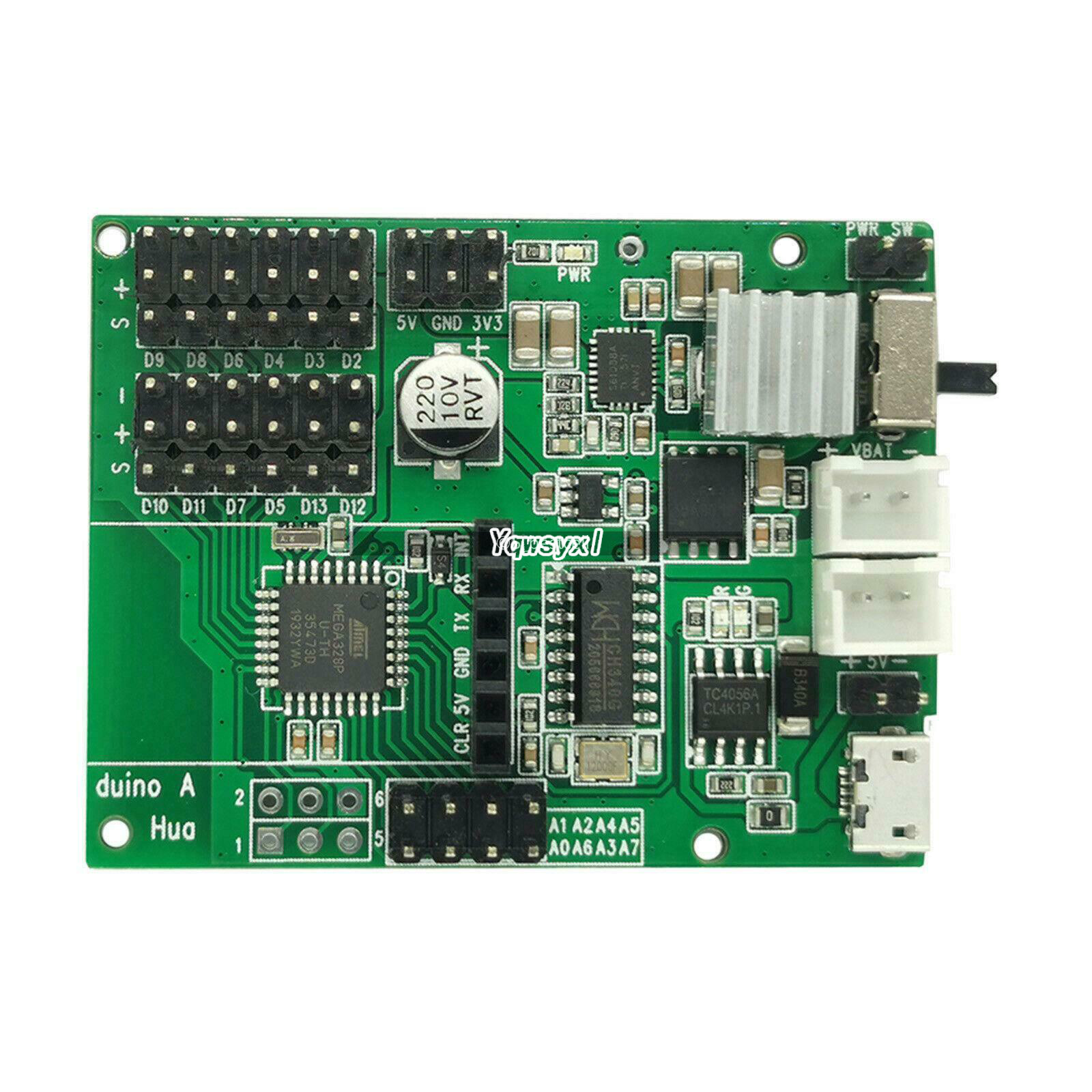 Yqwsyxl For HuaDuino - Arduino Compatible Board With Lithium Battery Power Up And Charging