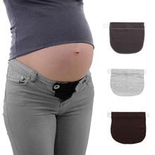 Pregnant Women Pregnancy Adjustable Maternity Waistband Elastic Extender Soft Pants Belt Extension Buckle Button Lengthening
