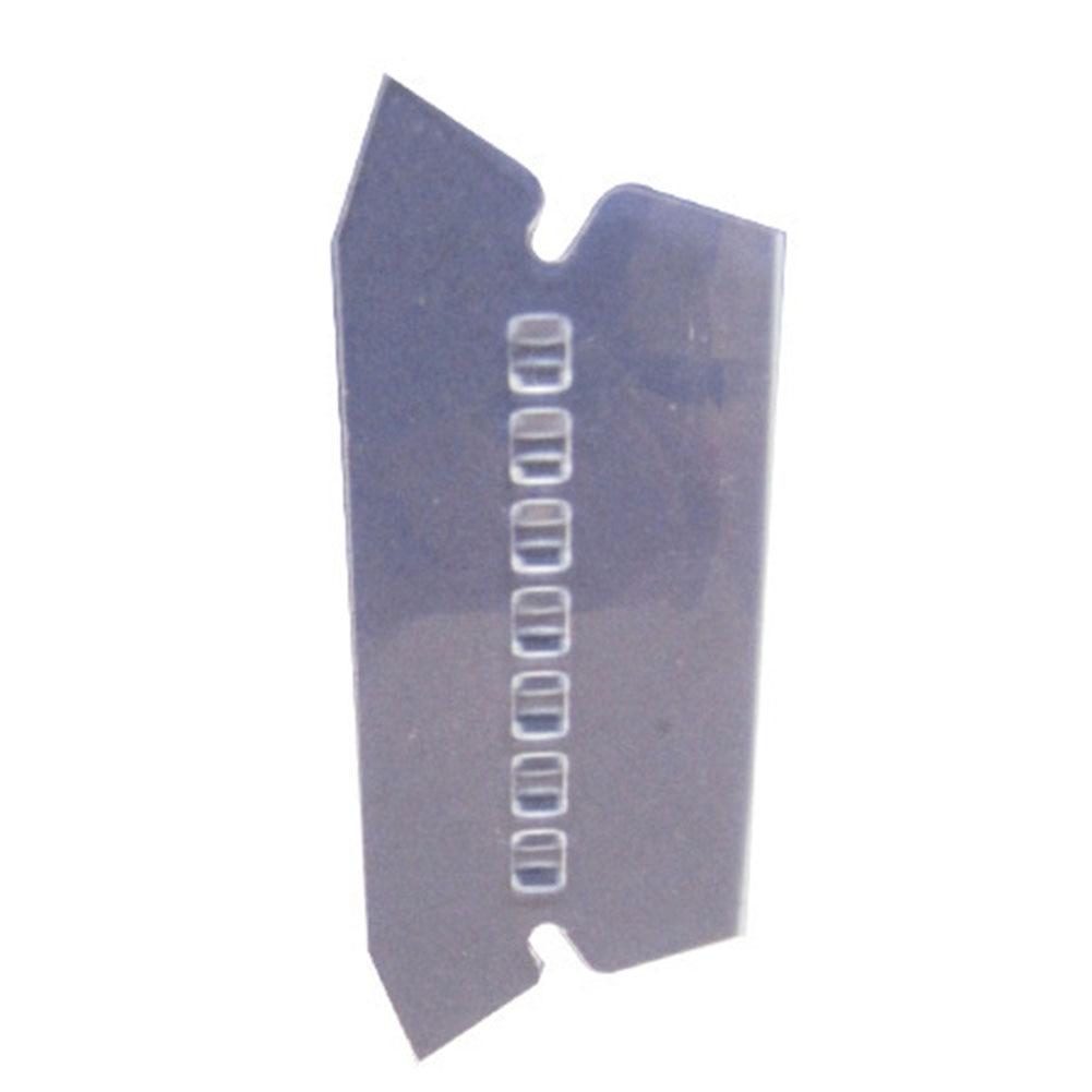 100pcs Crafts Smooth Hanging Transparent Film PVC Label Professional Bendable Durable Convenient File Index Office