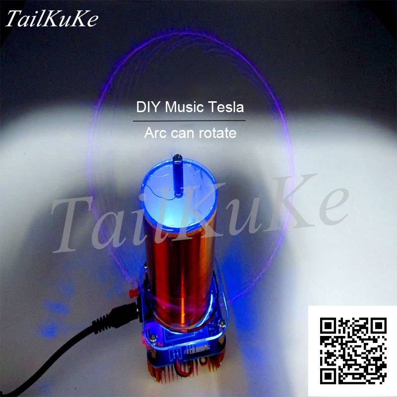 Music Tesla Coil ZVS Small Tesla Parts|Air Conditioner Parts| |  - title=