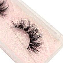Visón pestañas 3D visón pestañas 100% libre de crueldad pestañas reutilizable hecha a mano las pestañas naturales Popular maquillaje para pestañas falsas E11