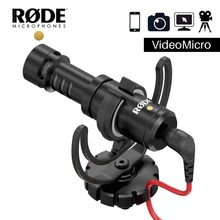 Original Rode VideoMicro Recording Microphone Interview Mic for Canon Nikon Sony DSLR camera Smartphone Vlog Video Photography