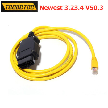 Without Any Software CD ENET ESYS 3.23.4 V50.3 Data Cable For BMW F-series OBD2 Interface For BMW ENET Coding Data Cable image