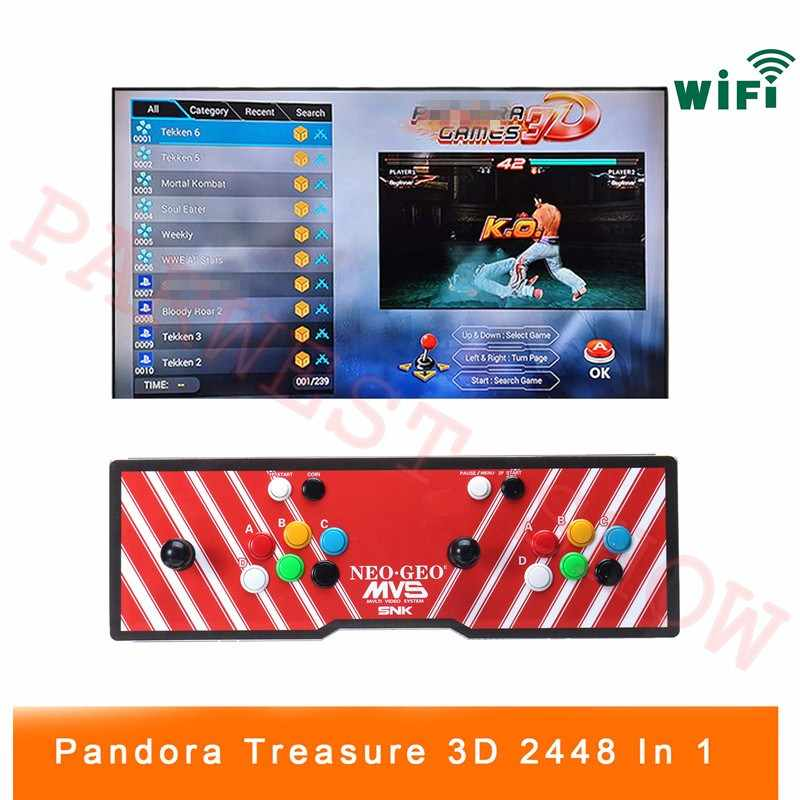 2 player 2448 IN 1 Mutil Board 3D Pandora Games Box Arcade Game Console  1920x1080 Full HD for PC/Laptop/TV/PS Controller (SNK)| | - AliExpress
