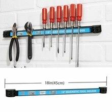 18 дюймов магнитный держатель инструмента органайзер для бара стеллаж для хранения ножевой ключ плоскогубцы инструмент