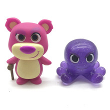 Mystery Minis Lotso Bear octopus Exclusive Movie Model Character Vinyl Doll Action Figure Collection Gifts No Box rocks alice cooper hot topic 68 69 music model character vinyl doll action figure collection no box