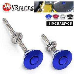 """Image 1 - VR   1.25 """"uniwersalny JDM Style Push Button Billet Hood Pins blokada klip zestaw samochodów szybkie szpilki dla BMW ect VR HPL04/05"""