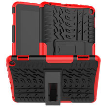 Amazon-Kindle Fire HD 8 Plus 2020 용 하드 솔리드 케이스 커버 Amazon-Kindle Z0714 용 10th Gen Rugged Rubber Stand 케이스 커버(China)