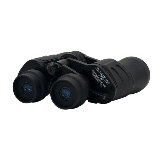 10-180x100 HD High Magnification Long Range Zoom Binoculars Camping Hunting Wide Angle Binoculars Outdoor Tourism Telescope 3