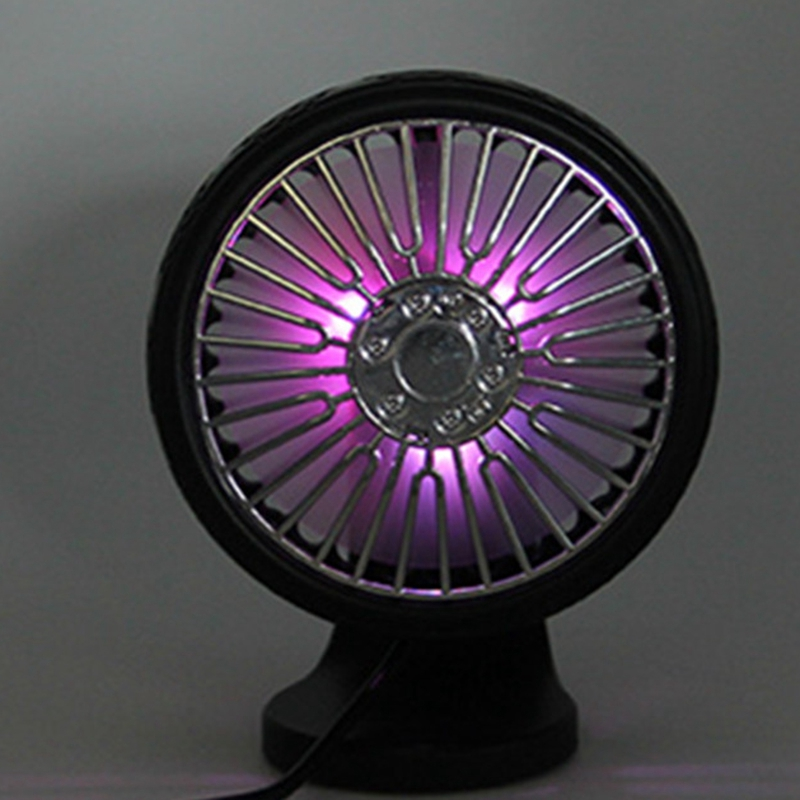 Aromatherapy Car Fan Multifunctional Simple Small Durable Vehicle Fan For Outdoor,Black