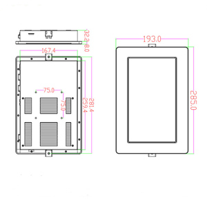 Image 5 - Hoge Helderheid 10.1 Inch Met Fanless IP65 Touch Screen Embedded Industriële Tablet Pc