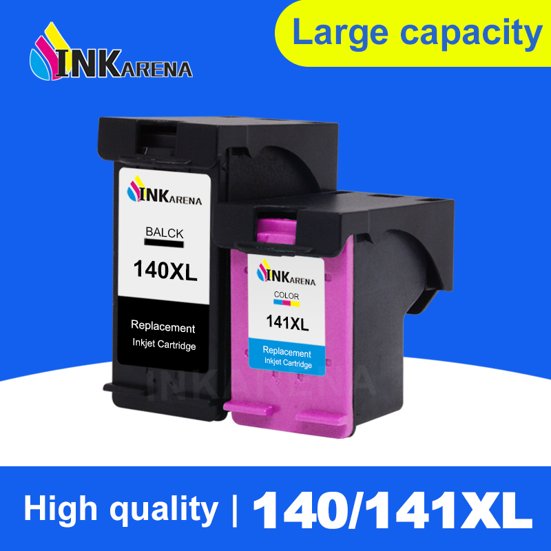 INKARENA Remanufactured Ink Cartridge Replacement For HP140 <font><b>141</b></font> XL D4263 D4363 C4283 C4483 C4583 C5283 D5363 Printer Inkjet image