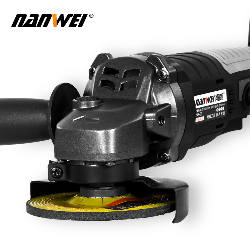 Tools : Electric Angle Grinder Grinding Machine Variable Speed Wood Metal Cutting Tool