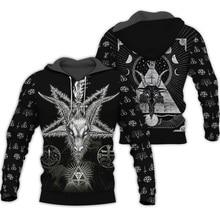 Liumaohua Newest Viking Tattoo 3D All Over Printed Shirts 3D Print Hoodie/Sweatshirt/Zipper Man Women satan Tattoo tops
