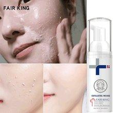 Facial Exfoliating Mousse Peeling Gel Face Scrub Deep Remove Cleaning All Skin Types Smooth Moisturizing Skin Exfoliator Cream