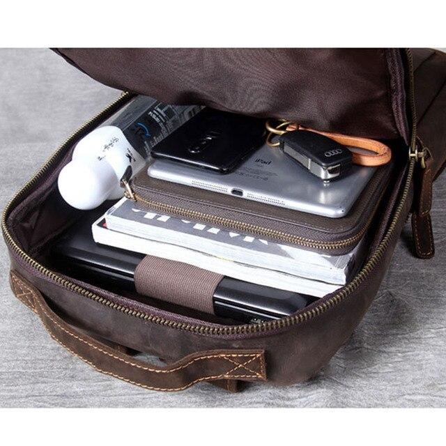 Modern Vintage Leather Backpack 3