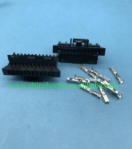 5/10/20/50/100 sztuk 12 pin FCI złącze do wiązki kabli delph, obudowa z tworzywa sztucznego wtyczka 211PC122S0017