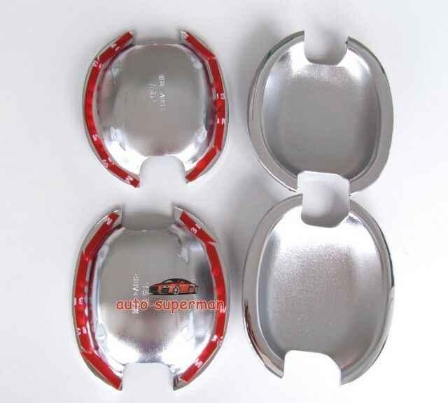Cromo de la manija de la puerta taza cuencos para VW Jetta MK5 2005, 2006, 2007, 2008, 2009, 2010