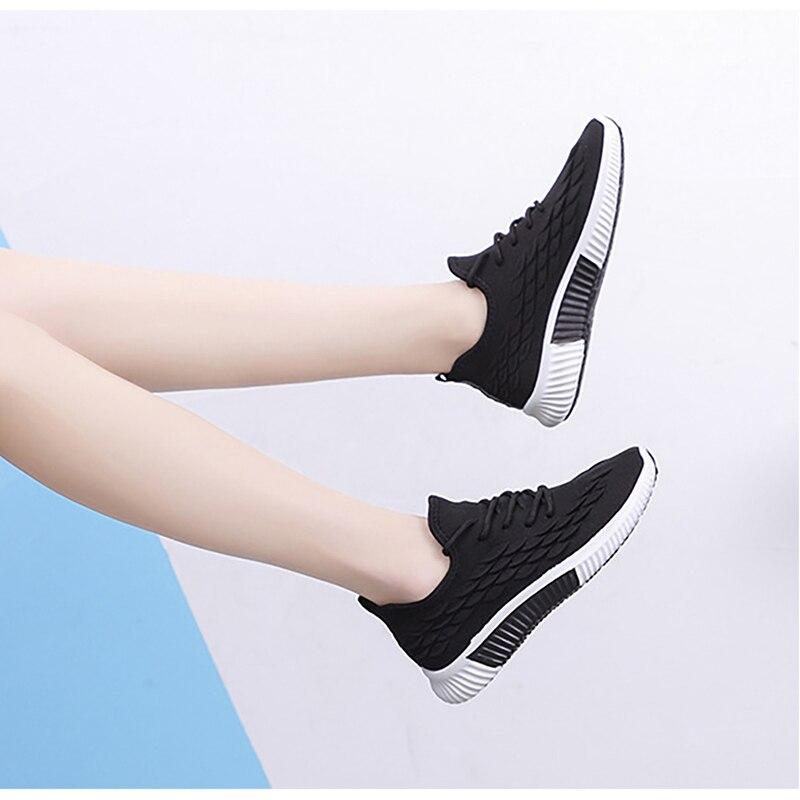 2020 Women Sneakers Woman Running Shoes Female Vulcanized Women's Casual Flats Women Walking Shoes Ladies Summer Plus Size