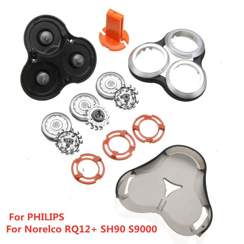 7Pcs/Set Shaver Tip Blade Cutter For PHILIPS For Norelco RQ12+ SH90 S9000 Man Shaver Accessories