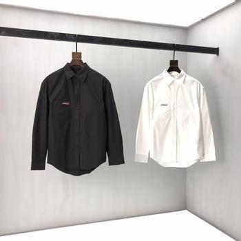 2020 Spring Summer Women's Paris Letter Embroidery Cotton Black Short Long sleeve men fleece  w92