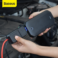 Baseus Car Jump Starter Battery Power Bank Portable 12V 800A Vehicle Emergency Battery Booster for 4.0L Car Power Starter