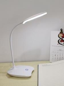 Настольная лампа лампа настольная светильник настольный Светодиодная настольная лампа на батарейках USB перезаряжаемая лампа для учебы сен...