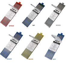 Tungsten-Electrodes WL15 WL20 Tig Welding-Aluminum WP WT20 for WC20 WZR8 WS20 Professional