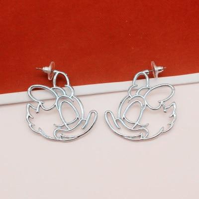 Todorova Cute Cartoon Mickey Stud Earrings For Women Minnie Girl Kids Geometric Animal Lover Earring Jewelry Boucle D'oreille