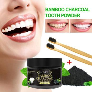 Coconut Shells Daily Use 70g Teeth Whitening Powder Activated Bamboo Charcoal Powder Tooth Scaling Powder Tartar Stain Removal 30g tooth whitening powder activated bamboo charcoal toothpaste tartar stain removal natural teeth whitening charcoal powder