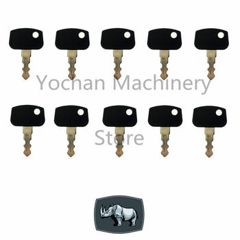 10 sztuka PL501-68920 kluczyk zapłonowy dla Sakai Kubota ciężki sprzęt koparka budowa RTV500 ZD RTV900 B BX F GR T9 W9 FS tanie i dobre opinie CN (pochodzenie)