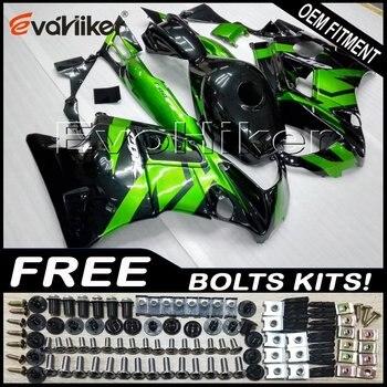 Custom fairing motorcycle bodywork kit for CBR600F2 1991-1994 ABS motorcycle panels green black+gifts