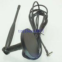 Tüketici Elektroniği'ten Pil Aksesuarları'de DHL/EMS 10 Takım Anten GPRS GSM veri kartı 3G 5dBi UM175 fiş pimi sağ açı USB Modem  C1