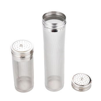 Stainless Steel Homebrew Beer Wine Brewing Dry Hop Filter Grain Basket Strainer Kit For Home Brew Spider Filter 7x18cm/7x30cm 1pc a type keg coupler draft beer dispenser for home mayitr brew air valve stainless steel connectors wine beer coupler head