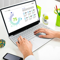 Высокое качество LapBook плюс 15,6 дюймовые ноутбуки 8 Гб оперативной памяти 256 ГБ rom Windows 10 Intel 4 ядра Ноутбук игровой компьютер