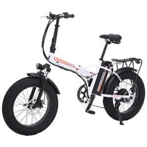 Image 5 - Electric bike 48v Electric bike  4.0 fat tire electric bike powerful fat tire ebike beach cruiser bike Booster bicycle electric
