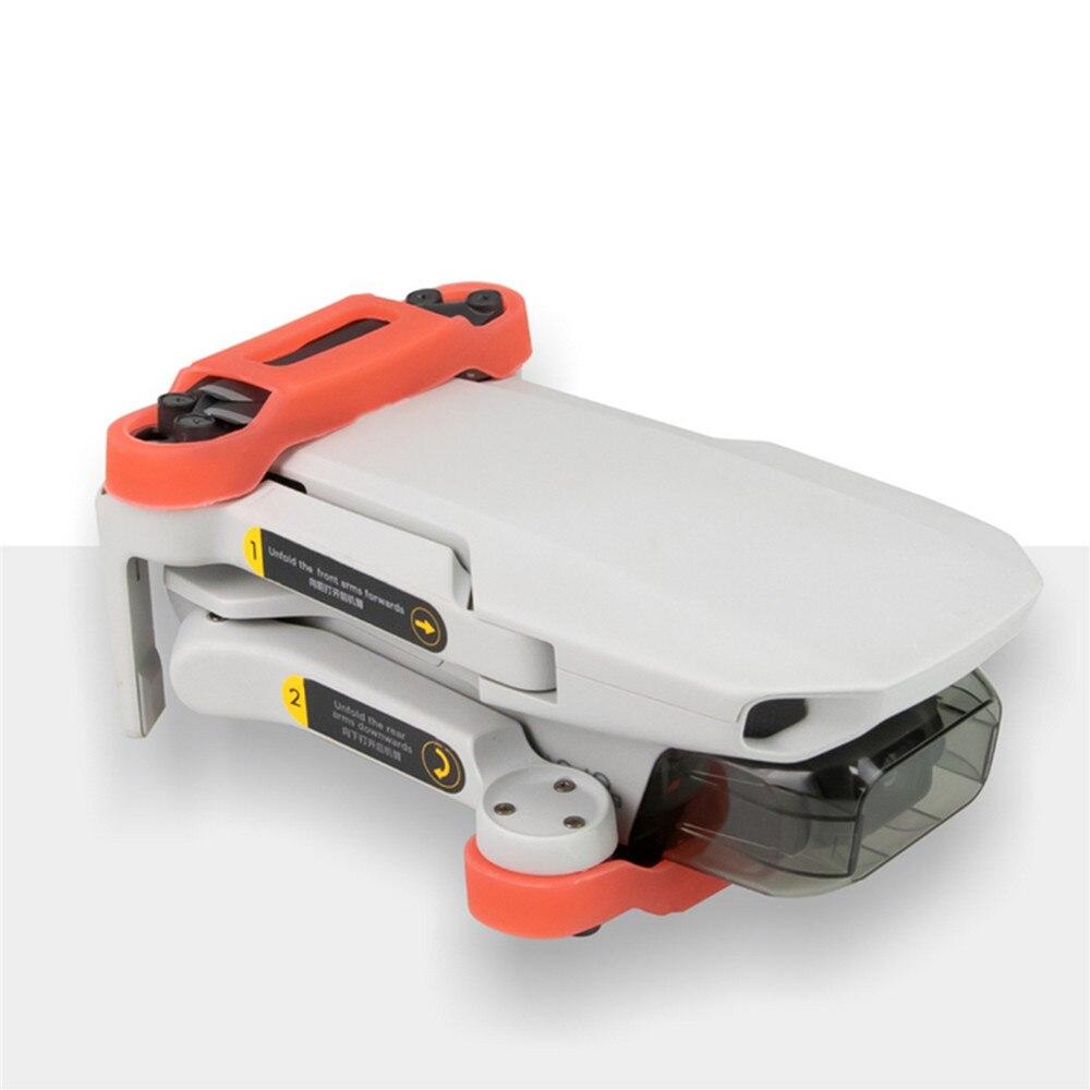 Image 2 - Быстросъемный силиконовый держатель для DJI Mavic Mini Drone, держатель для лезвий, стабилизатор, защитные реквизиты, фиксирующий кронштейнНаборы аксессуаров для дронов    АлиЭкспресс